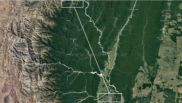 Imagen satelital Google Maps