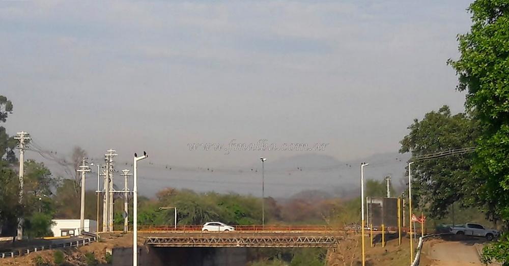 Incendios forestales en el departamento de Gral. San Martín